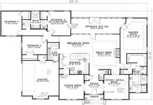 House Plans With Two Master Suites by Two Master Suites 59914nd 1st Floor Master Suite Cad