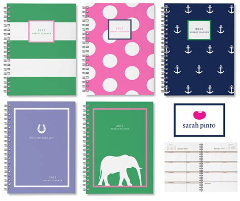 best planners and organizers best and most stylish daily weekly monthly planners for