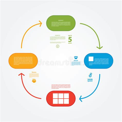tutorial on vector space vector template colorfully plan tutorial or presentation