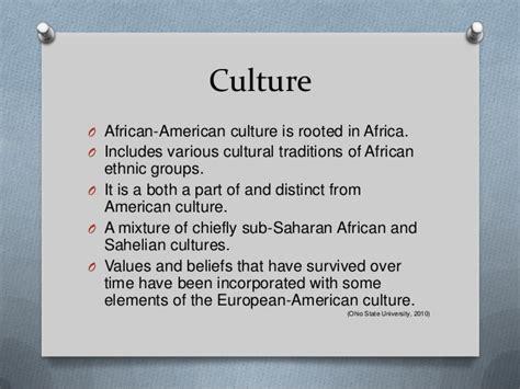 african american culture 2013