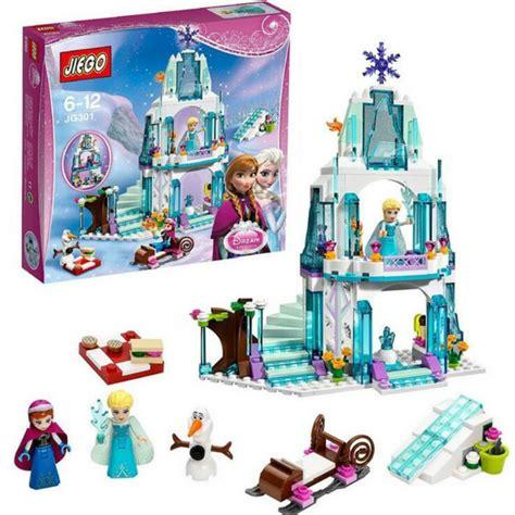 Blocks Frozen 316 Pcs Jg301 316pcs color box princess elsa castle princess