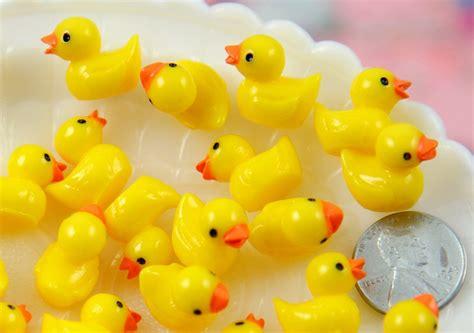 Tiny Bathroom Ideas 18mm tiny adorable miniature rubber ducky little toy