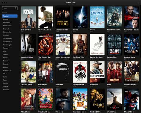 film seru di 2014 chiude popcorn time il software per i film pirata