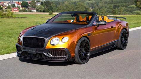 bentley modified yes this is an orange bentley convertible with 987bhp