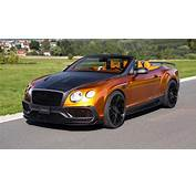 Yes This Is An Orange Bentley Convertible With 987bhp