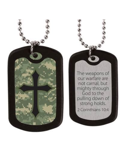 cross tags digital camo cross tags