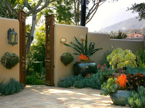 courtyard landscape photos hgtv