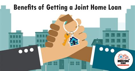 joint housing loan joint home loan advantages investors clinic blog