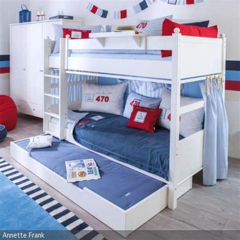 Kinderzimmer Junge Maritim by Perfekt Eingerichtetes Etagenbett Mit Schublade Im