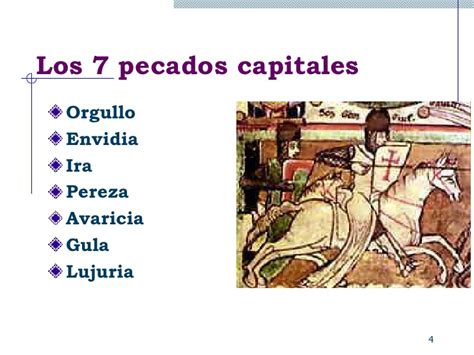 los siete pecados capitales los 7 pecados capitales en la acreditaci 243 n