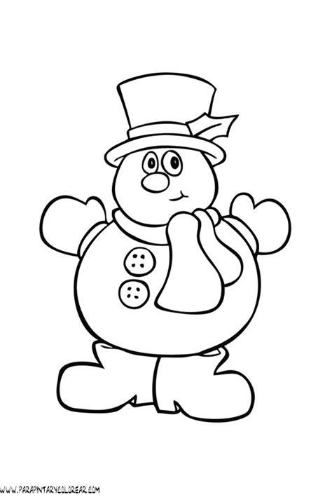 imagenes infantiles invierno para colorear dibujos de invierno para colorear 002