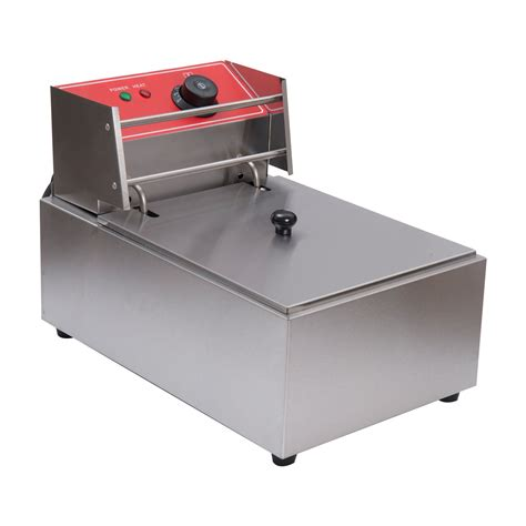 Fryer Gas Butterfly 6 Liter homcom 6 liter stainless steel commercial grade electric fryer silver gifts for the crafty
