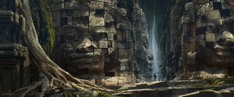 art of the uncharted cg on concept art mike hill and fantasy
