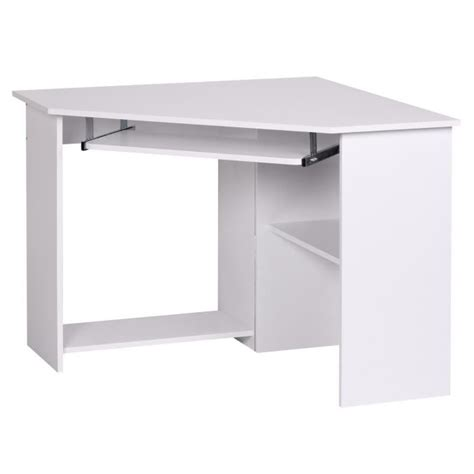 bureau d angle informatique bureau d angle meuble informatique avec tablett achat