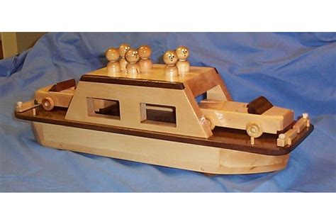 ferry boat toy wooden toy car ferry wood toy boats