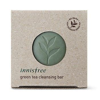 Brunei Detox Bar by Innisfree Green Tea Cleansing Bar Korean Cosmetic