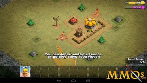 clash clans troops clash of clans game review