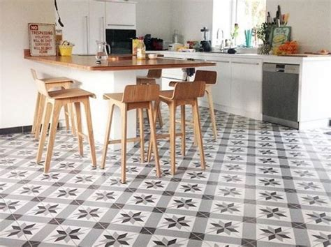 Crédence Imitation Carreaux De Ciment 3052 by Inspiration Table Patio