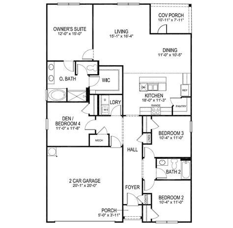 cali  home floor plan