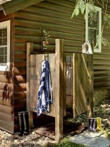 Outdoor Shower Ideas by Outdoor Showers The Owner Builder Network