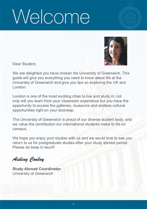 Union College Acceptance Letter Date Greenwich Study Abroad Handbook 2012 13