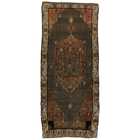 gallery furniture rugs vintage kars gallery rug with mid century modern style for sale at 1stdibs