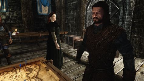 best mod for game of thrones eddard stark follower from hbo game of thrones at skyrim