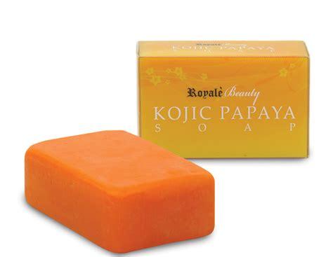 Sabun Kojic shop kojic acid papaya soap royale likas shopclues