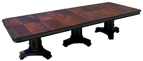 banquet dining table large mahogany banquet dining conference table ebay