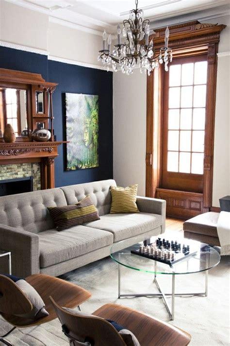 living room ideas navy blue modern house