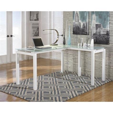 ashley l shaped desk signature design by ashley furniture baraga l shaped desk