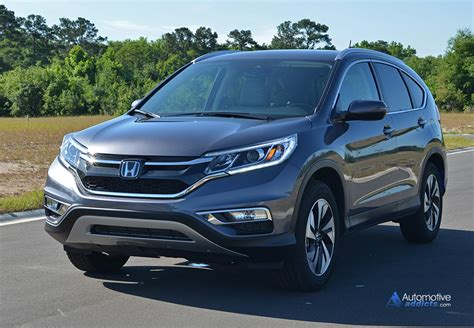 Honda Crv 2015 by 2015 Honda Cr V Awd Touring Review Test Drive