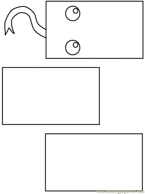 rectangle shape coloring pages