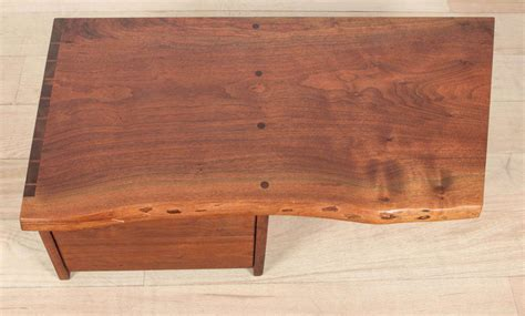 Wall Mounted Shelf With Drawer by George Nakashima Wall Mounted Shelf With Drawers At 1stdibs