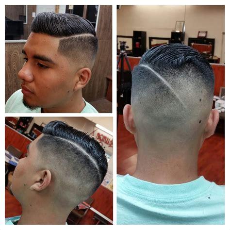 black men bald fade hard part bald fade combover with hard part haircut by