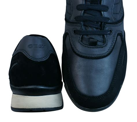 geox u sandro b abx a mens trainers shoes black at