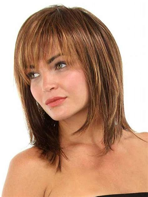 long bob haircuts for fine hair and short neck hair on pinterest thin hair fine hair and bangs