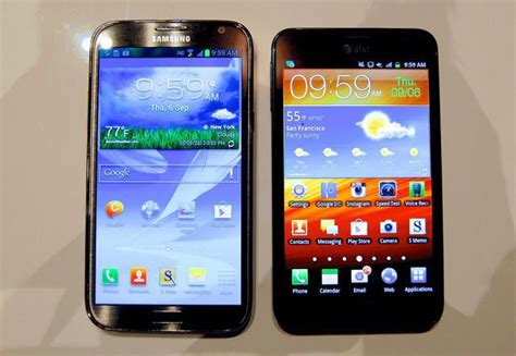 Handphone Samsung Galaxy Fit samsung galaxy note ii coming to 5 u s carriers by mid november