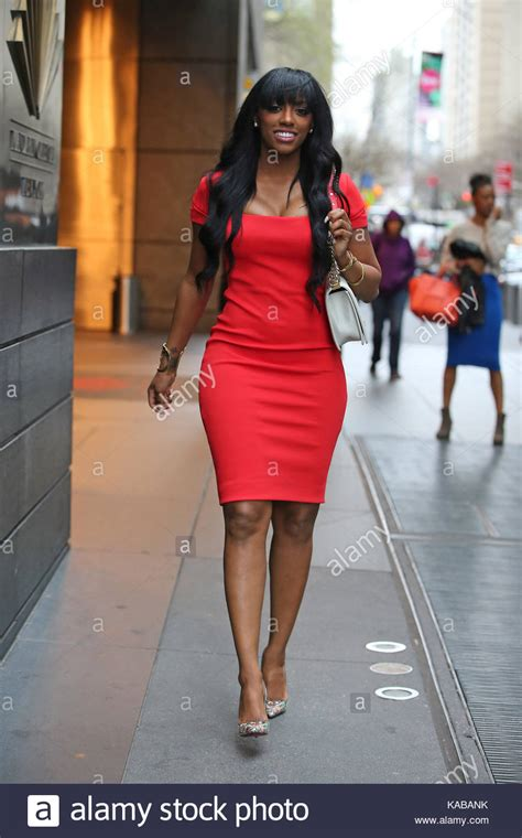 porsha williams in high school porsha williams porsha williams spotted in a plunging red