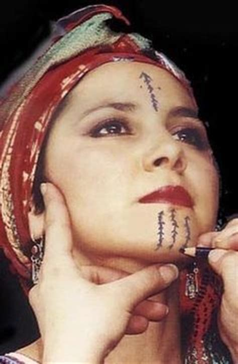 muslim woman tattoo face 1000 images about facial tattoo tribal bellydance on