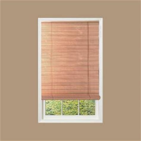 woodgrain interior exterior roll up patio sun shade 72 in w x 72 in l 0321267 the home