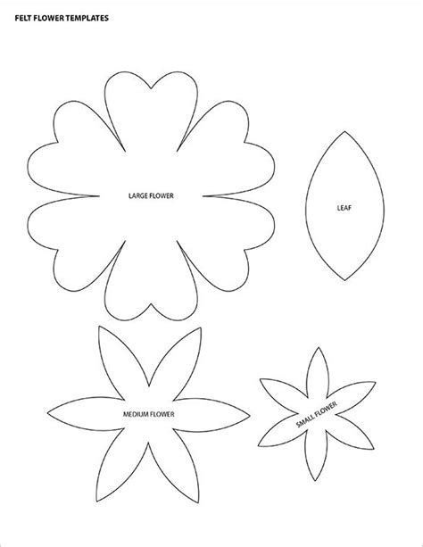 12 petal flower template 12 printable flower petal templates free free