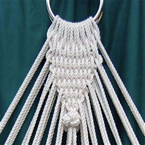 Hammock Clew stonk knots design in rope rope hammock