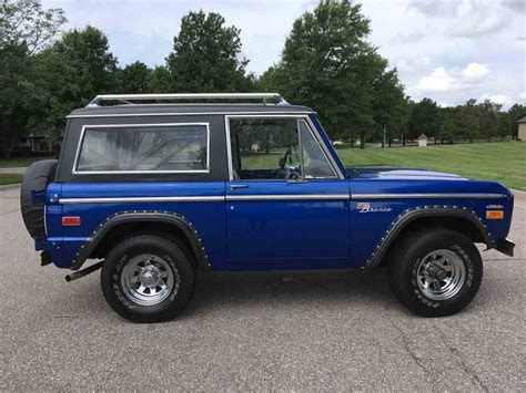 ford bronco 1970 1970 ford bronco for sale classiccars com cc 1001753