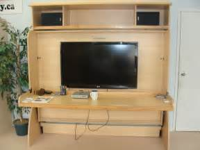 Murphy Bed Desk Canada Studio Hideaway Bed To Desk From Bed Factory Canada