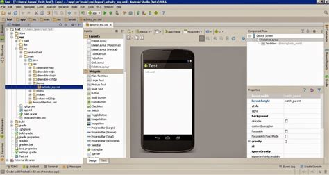 layout android que es configurar layouts y views en android studio