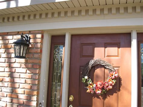 Hanging Beadboard - siding soffit trim dentil moulding traditional exterior cincinnati by exteriors