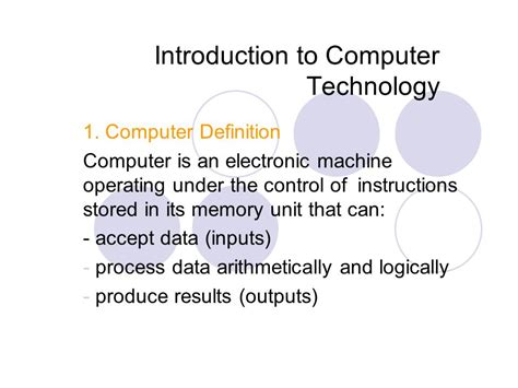 theme definition technology introduction to computer technology ppt video online