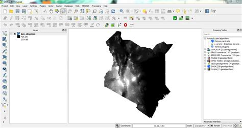 qgis dem tutorial lifeingis generating contours from dem in qgis