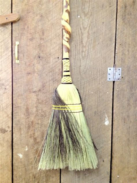 Handcrafted Brooms - brooms laffing